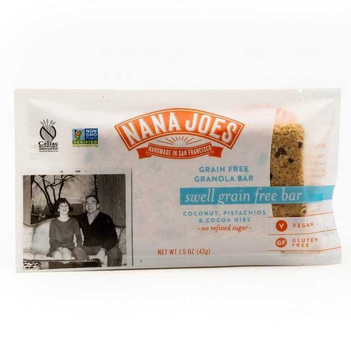 Nana Joes Granola - Swell Grain Free Bar, 1.5oz