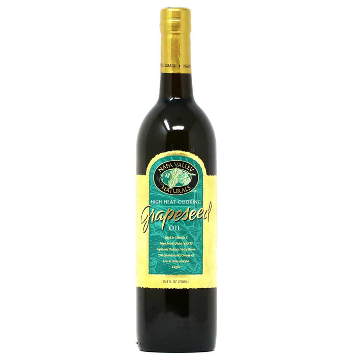 Napa Valley Naturals - Grapeseed Oil, 25.4 fl oz (750ml)