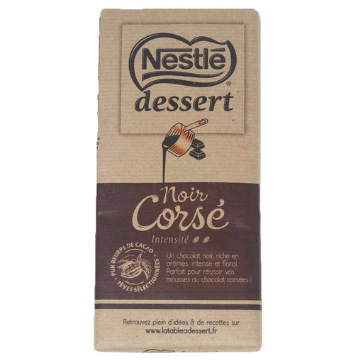 Nestle Dessert Corse - 65% Dark Chocolate Baking Bar, 7oz