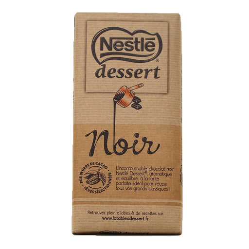 Nestle Dessert Noir - 52% Dark Chocolate Baking Bar, 7oz