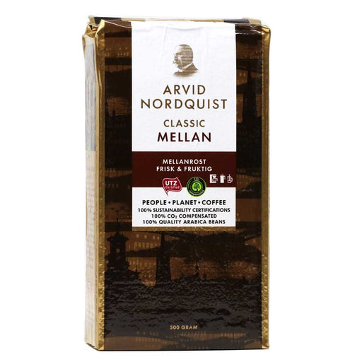 Arvid Nordquist Classic Medium Roast Coffee, 17.6oz (500g)