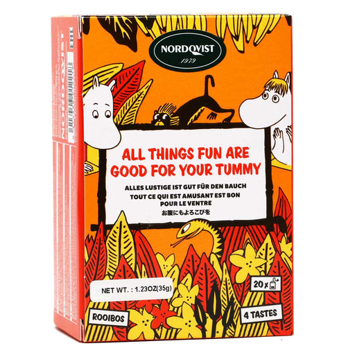 "Nordqvist Rooibos Tea ""All Things Fun Are Good For Your Tummy"", 1.23oz"