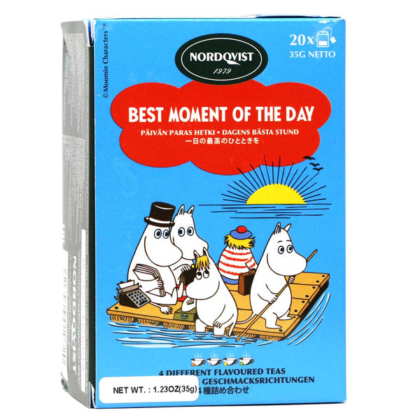 "Nordqvist Assorted Black Tea ""Best Moment of the Day"" , 1.23oz"