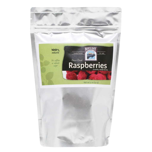 North Bay Trading Co - Freeze Dried Raspberries, 2oz