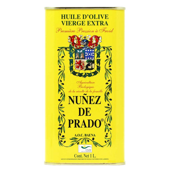 Nunez de Prado - Extra Virgin Olive Oil, First Cold Press, DOP Baena, 1L Tin
