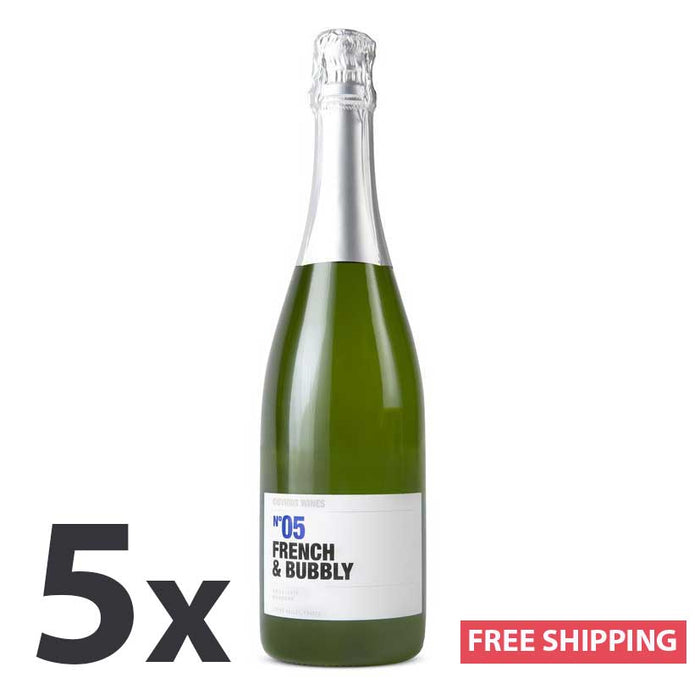 Obvious Wines N°05 French & Bubbly | Sparkling Wine, Loire Valley, France (5 Bottles)