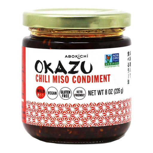 Okazu - Chili Miso Oil Condiment, 8.45oz (250ml)