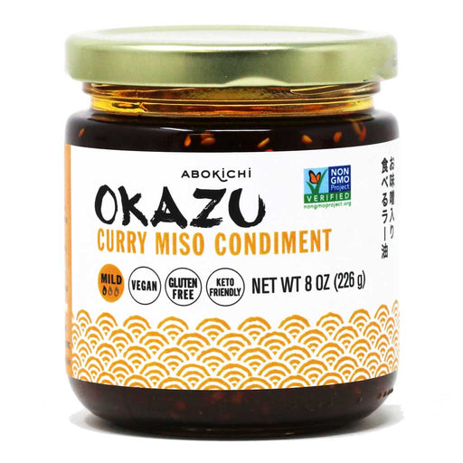 Okazu - Curry Miso Oil Condiment, 8.45oz (250ml)