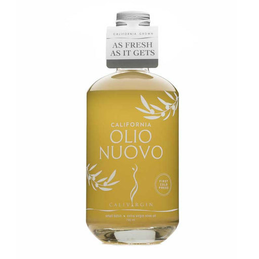 "*PRE-ORDER* Olio Nuovo (""New Oil"") Calivirgin First Cold Press EVOO - 750 ml"