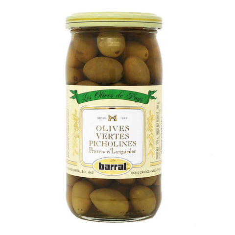 Barral - Green Picholines Olives from Provence, 200g