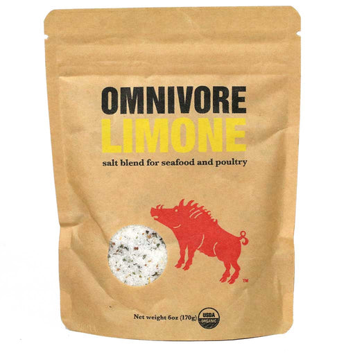 Omnivore - Limone Salt & Spice Blend, 6oz Bag