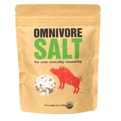 Omnivore - Organic Salt & Spice Blend, 6oz Bag