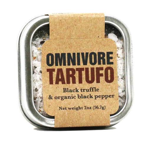 Omnivore - Black Truffle & Organic Black Pepper (Tartufo), 2oz Tin