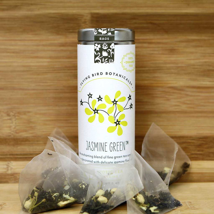 Flying Bird Botanicals - Organic Jasmine Green Tea