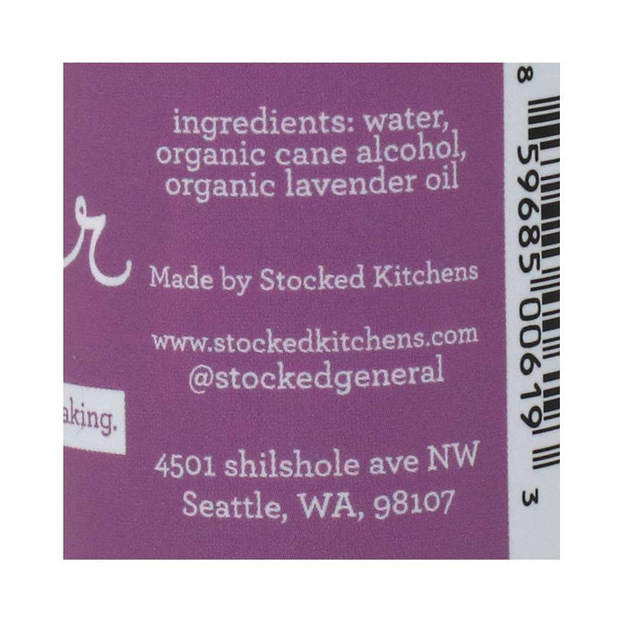 Organic Lavender Water by Krista's Baking Co, 2oz