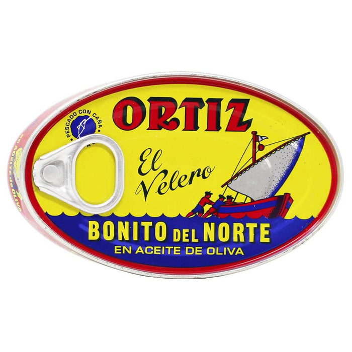 Ortiz - White Tuna in Olive Oil, Aged 4-5 Months, 112g Tin