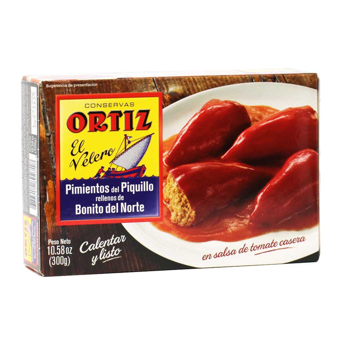 Ortiz - Piquillo Peppers Stuffed with Tuna (Pimientos del Piquillo), 300g Tin