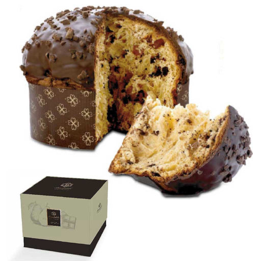 Brontedolci - Panettone Cake with Pears and Modica Chocolate, 1kg