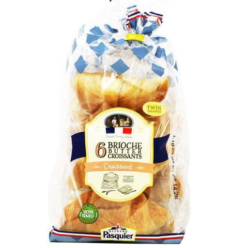 Brioche Pasquier French Butter Croissants, 9.5oz (270g)