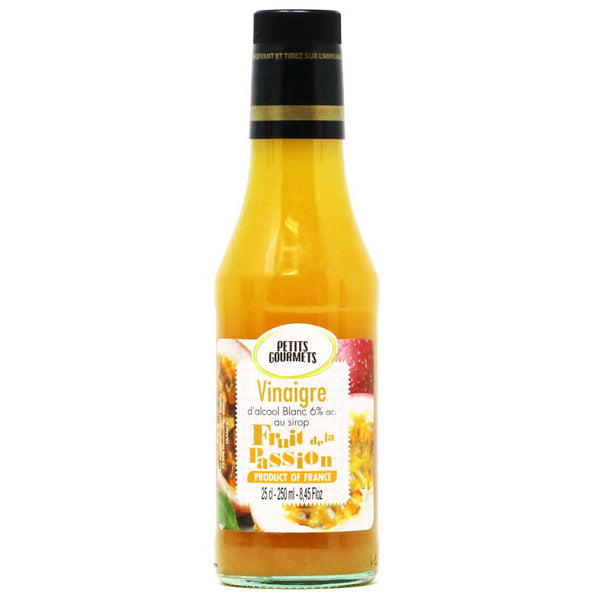 Petits Gourmets - White Distilled Vinegar (Passion Fruit Flavored) - 25 cl (8.4oz)