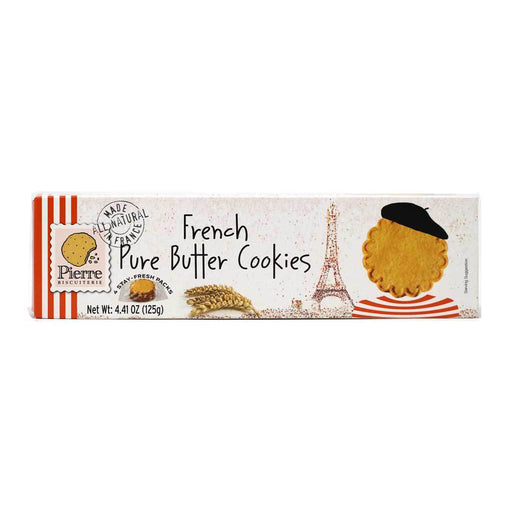 Pierre Biscuiterie - Pure French Butter Cookies, 4.4oz