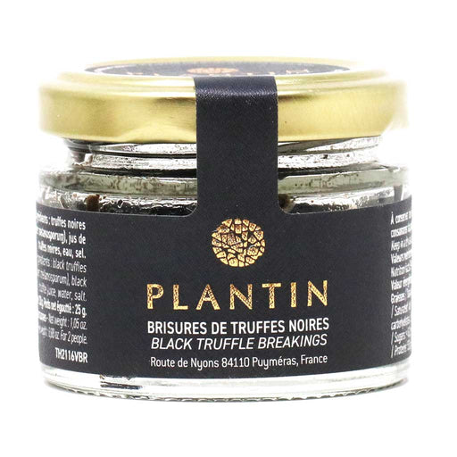 Plantin - Black Truffle 25g - 0.88 oz, Jar, Breakings