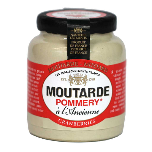Pommery - Whole Grain Mustard (Cranberry Flavored), 100g