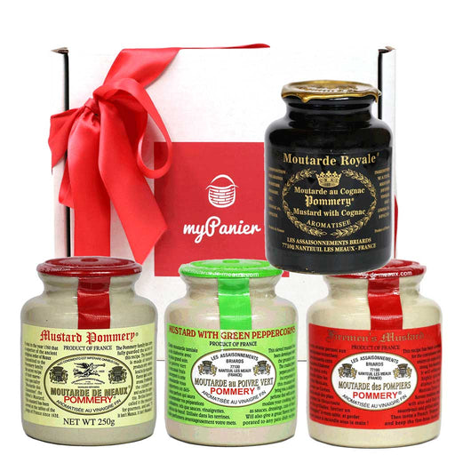 Pommery French Mustard Connoisseur Gift Set