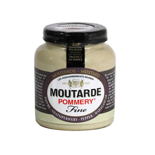 Pommery - Dijon Mustard with Madagascar Pepper (Voatsiperifery), 100g (3.5 oz)