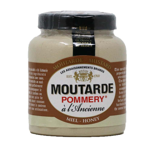 Pommery - Whole Grain Mustard (Honey Flavored), 100g Jar