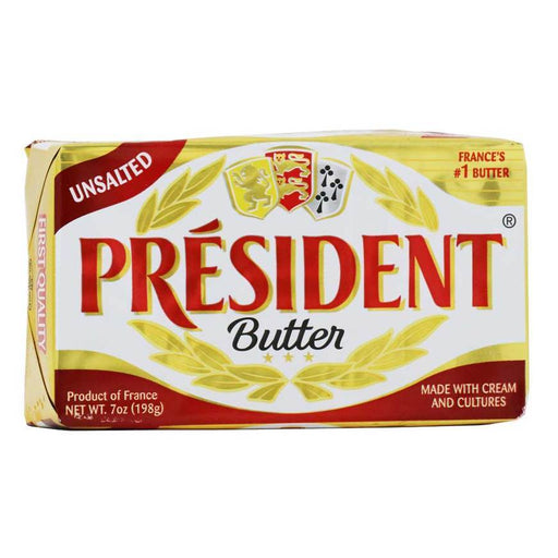 President - Unsalted Butter, 7oz (200g)