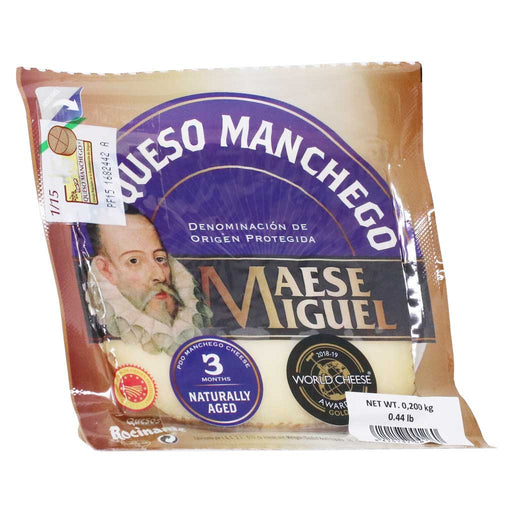 Quesos Rocinante - Semicured Manchego PDO Pure Sheep Cheese (Over 3 Months), 200g