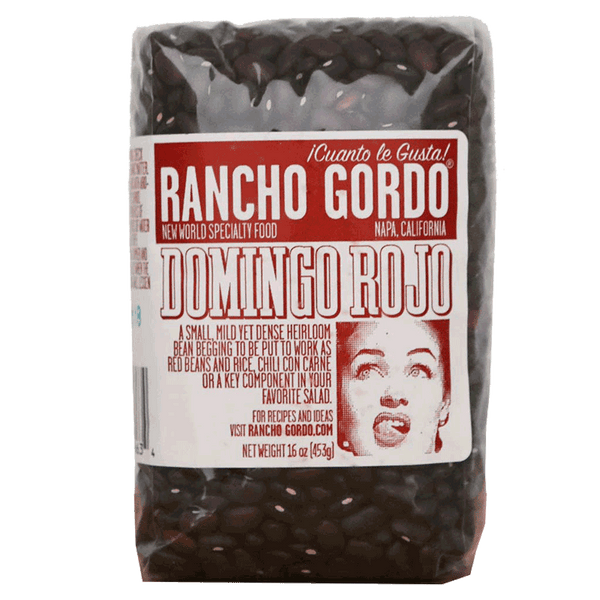 Rancho Gordo - Domingo Rojo Bean, 1 lb