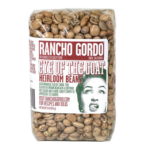 Rancho Gordo - Eye of the Goat Bean, 1lb