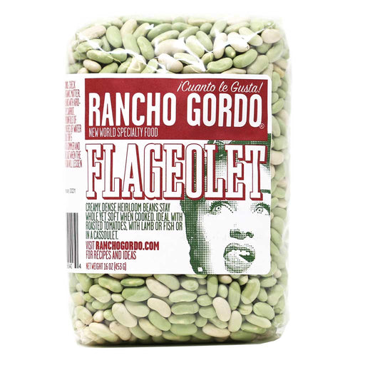 Rancho Gordo - Flageolet Bean, 1lb