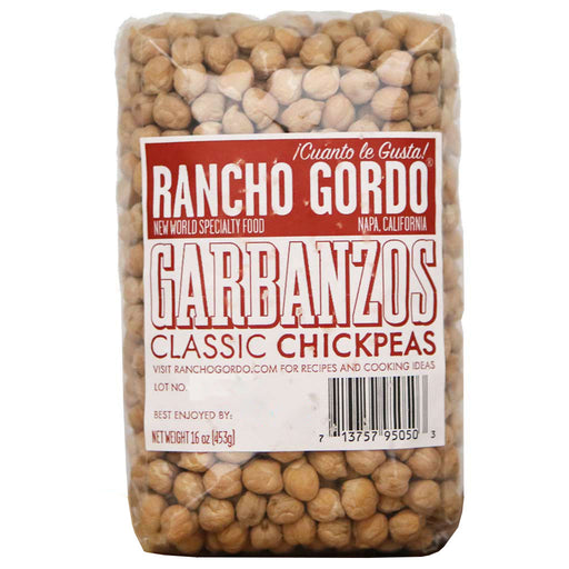 Rancho Gordo - Garbanzo Bean, 1 lb