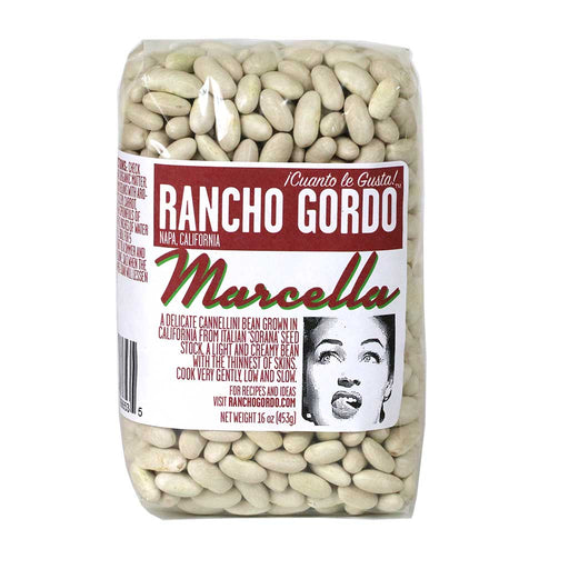 Rancho Gordo - Marcella Cannellini Bean, 1lb