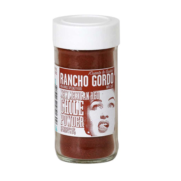 Rancho Gordo - New Mexican Red Chile Powder, 2oz