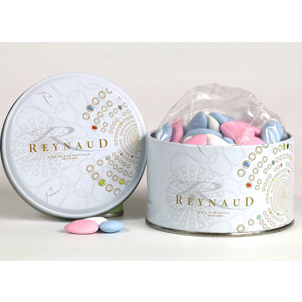 Dragee Reynaud Avola Vendome Jordan Almonds, 300g Tin - myPanier