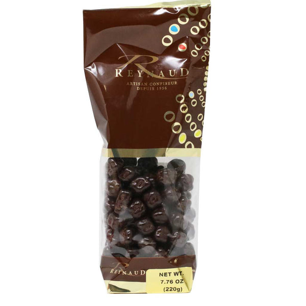 Reynaud - 66% Dark Chocolate Covered Candied Ginger, 220g Bag