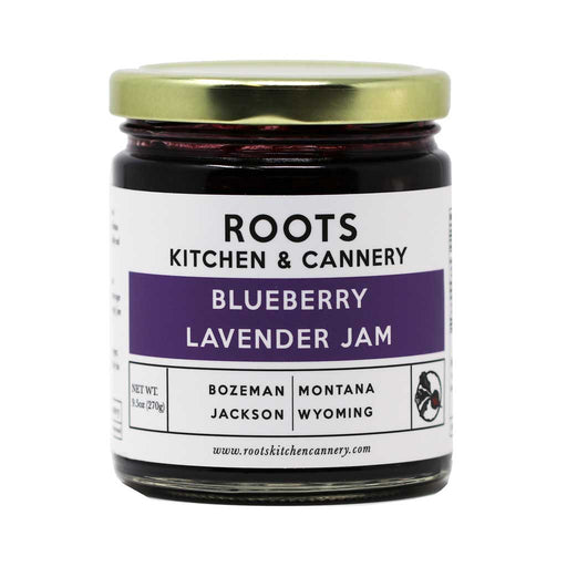 Roots - Blueberry Lavender Artisan Jam, 8oz