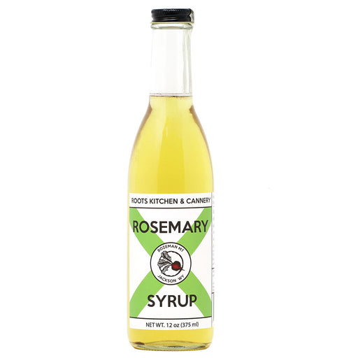 Roots - Rosemary Infused Simple Syrup, 12oz
