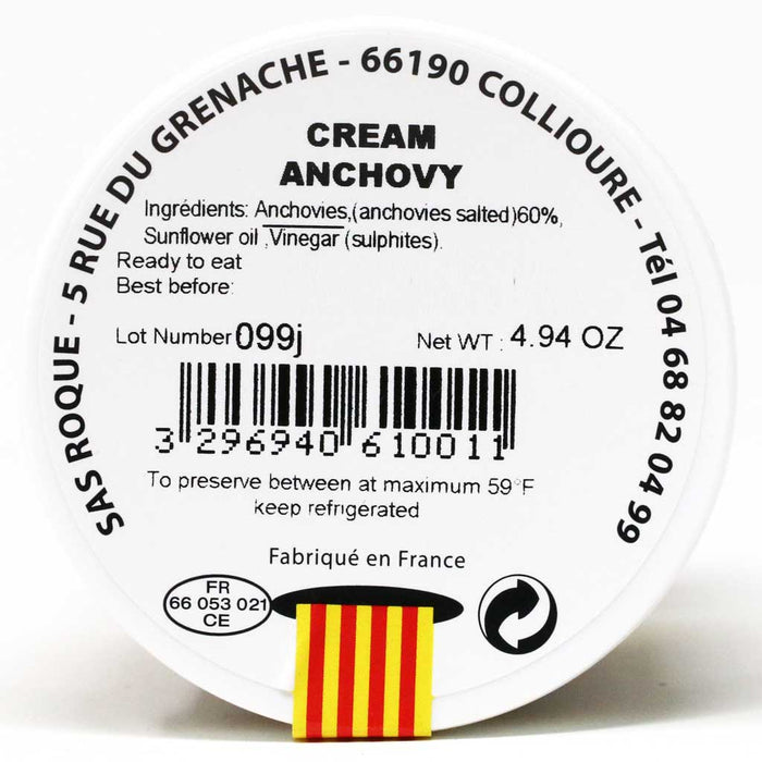 Roque - Cream of Anchovy, 140g (2-PACK)