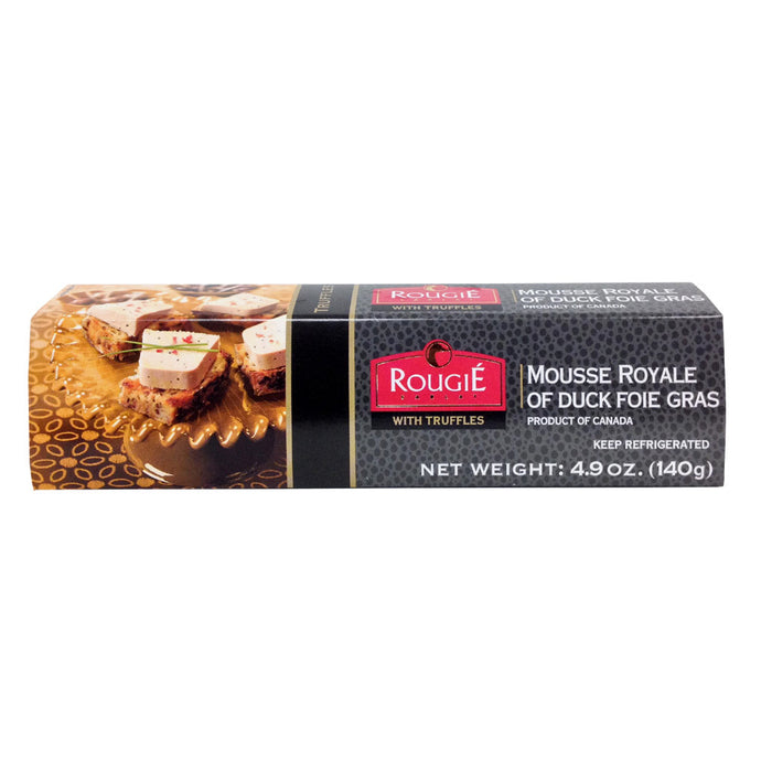 Rougie - Mousse Royale of 70% Duck Foie Gras with Truffles (Pork Free), 140g (4.9oz)