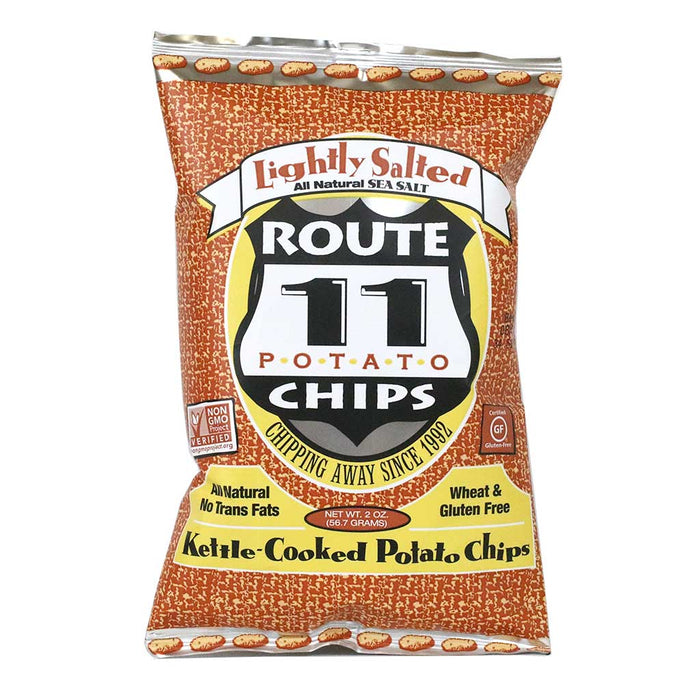 Route 11 - Kettle Cooked Potato Chips, 2oz