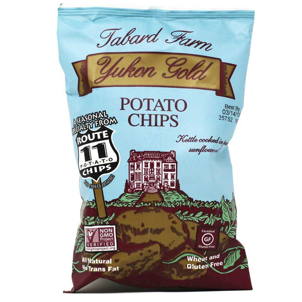 Route 11 - Tabard Farm Yukon Gold Potato Chips, 2oz