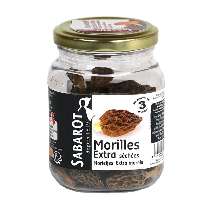 Sabarot - Dried Morels, 30g (1.1 oz)