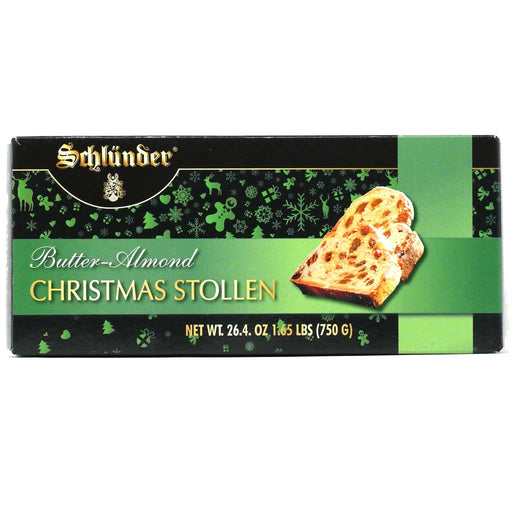Schlunder - Butter Almond Christmas Stollen Box, 26.4oz