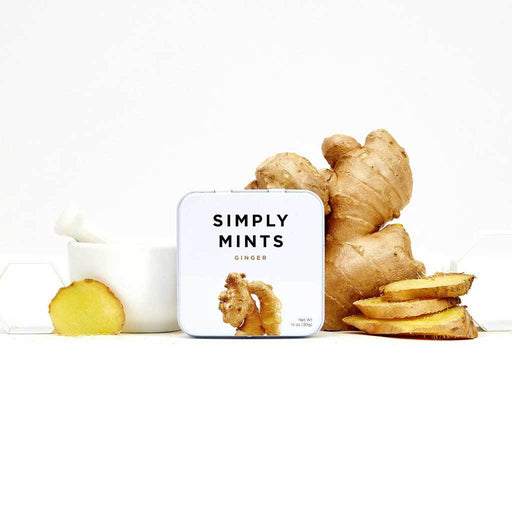 Simply Mints - Natural Ginger Breath Mints 1
