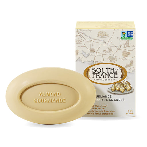 South of France - Almond Gourmande Bar Soap, 6oz